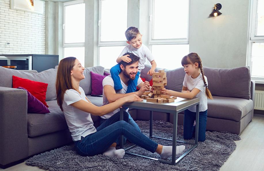 evde ailece zaman geçirmek