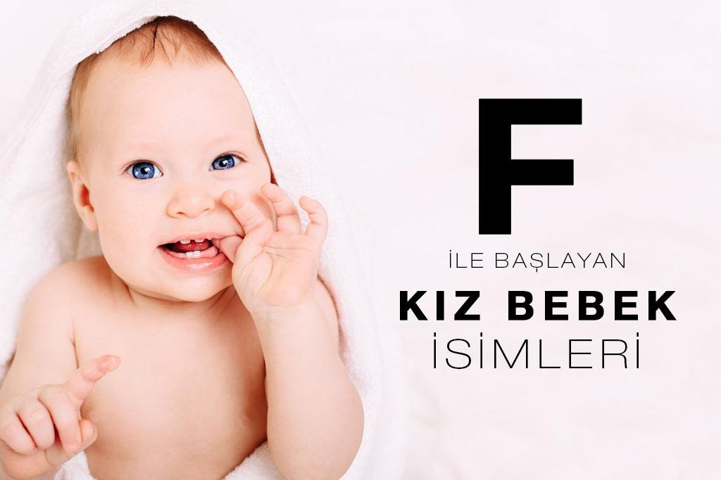 f ile başlayan kız bebek isimleri