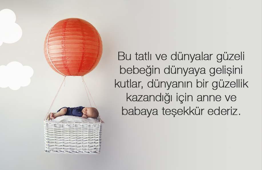 yeni doğan bebek mesajları