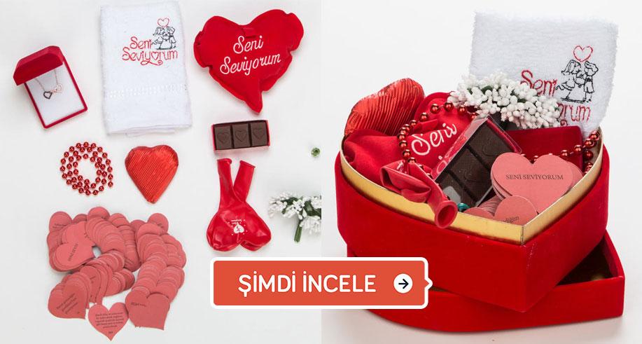 kalp kutulu hediye fikirleri